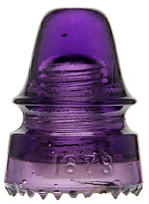 CD 162.4 (Skirt) 1678; Dark Purple