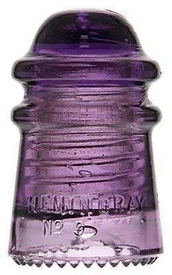 CD 106 HEMINGRAY; Dark Purple