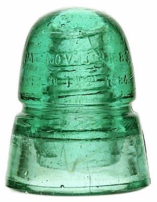 CD 145 BROOKFIELD [250]; Green Aqua w/ Milk Worm