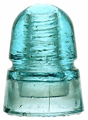 CD 145 STANDARD GLASS; Light Blue Aqua