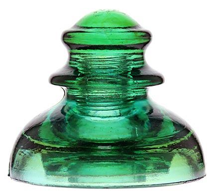CD 282 PRISM; Aqua/Green w/ Amber Swirls