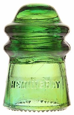 CD 106 HEMINGRAY // No 9, Yellow Green; Nice amber blending!