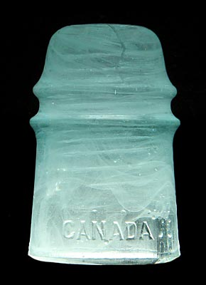 CD 121 CANADA, Jadey Milky Light Aqua; An eye-catcher!