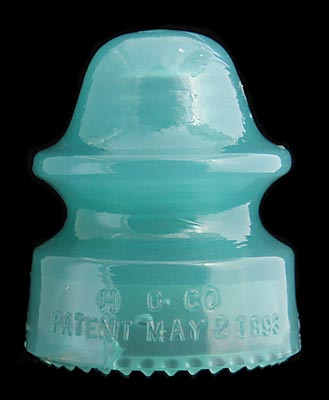 CD 164 H.G.CO., Jade Green Milk; Classic jade!