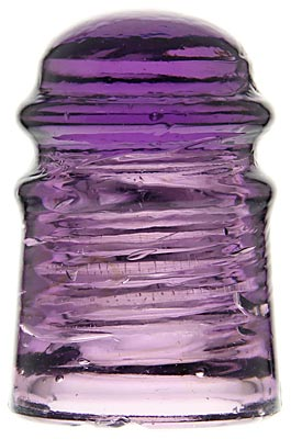 CD 120 {Unembossed C.E.W.} Rich Purple; Colorful and rare!