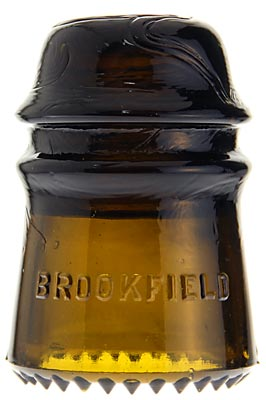 CD 121 BROOKFIELD Olive Amber; Desirable color!