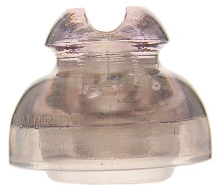 CD 293 FRED M. LOCKE Light Gray Purple w/ Milk Wisps; Classic!