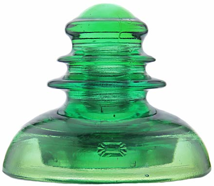 CD 283 PRISM Yellow Green; Amber swirling!