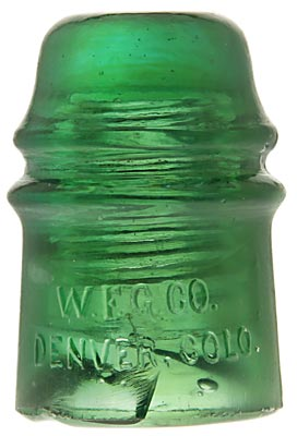 CD 121 W.F.G.CO., Yellowy Green; Hard to find color! Another one of the best Denvers!