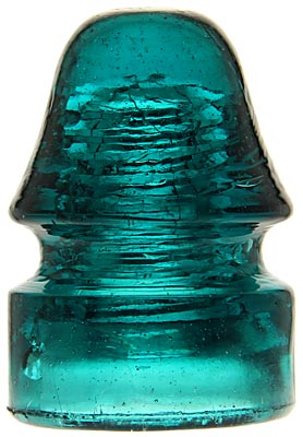 CD 134 {Unembossed Pennycuick}, Rich Teal Blue; Another great color!