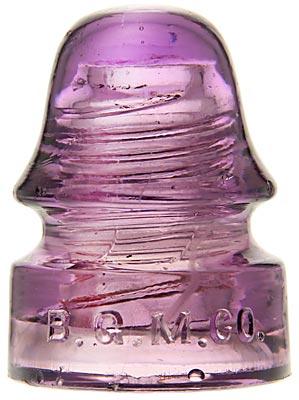 CD 134 B.G.M.CO., Purple; Milky strands!