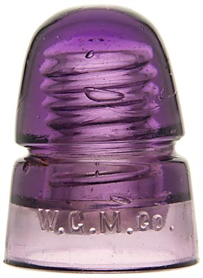 CD 145 W.G.M.CO., Purple; Great color!