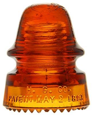 CD 162 H.G.CO., Bright Orange Amber; Signature color!