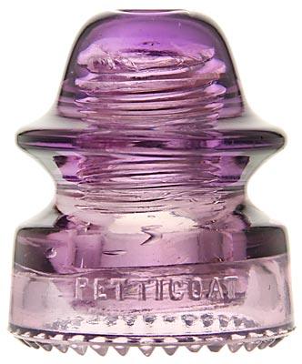 CD 164 PETTICOAT, Rich Purple; Tough Hemingray imposter!