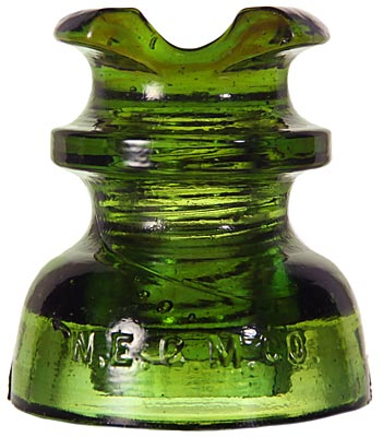 "CD 251 N.E.G.M.CO., Olive Yellow Green; A different color than the ""usual"" and with amber swirls too!"