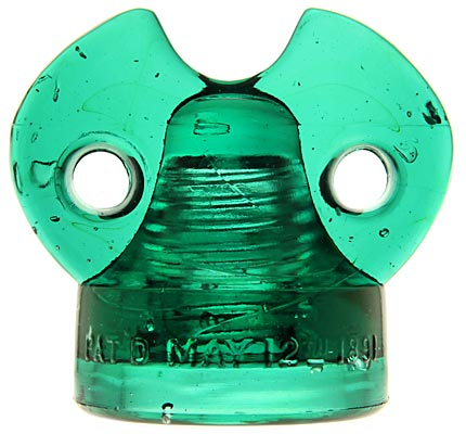 CD 262 COLUMBIA, Rich Dark Green Aqua; Cute baby Columbia; aww!