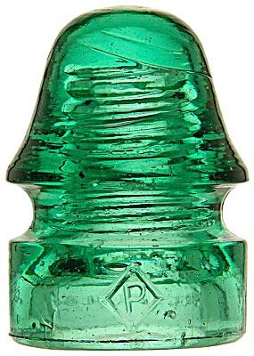 CD 134 DIAMOND P, Green; A distinctive color!