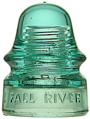 CD 134 FALL RIVER POLICE SIGNAL, Light Green Aqua; Another unique Fall River, MA piece in great condition!