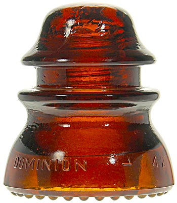 CD 154 DOMINION, Dark Red Amber; The deep end color for your amber Dominions!