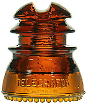 CD 214 TELEGRAFOS NACIONALES, Dark Orange Amber; Always popular!