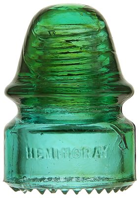 CD 134 HEMINGRAY // No 18, Aqua/Green Two Tone; Fantastic color separation!