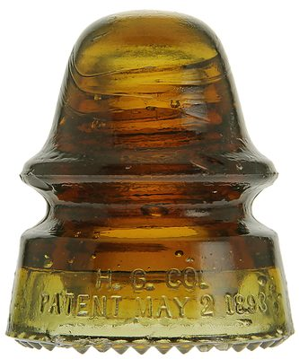 "CD 162 H.G. CO., Red Amber/Gingerale Two Tone; ""Amberina""?"