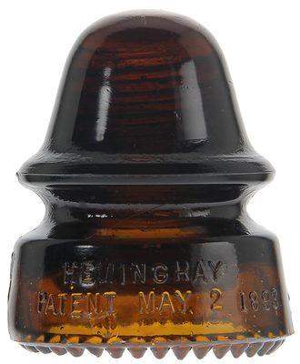 CD 162 HEMINGRAY, Root Beer Orange Amber; A neat signal!