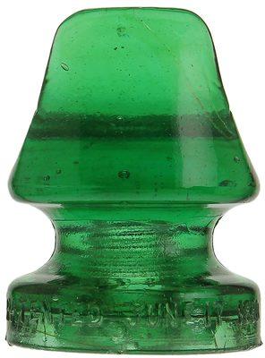 CD 267 N.E.G.M. CO., Deep Green; Tough color!