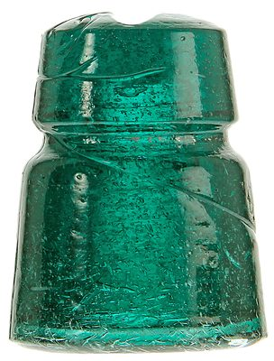 CD 516.1 {Unembossed} {Russia}, Deep Bubbly, Fizzy, Tealy Aqua; Looks like a Pennycuick but from Russia!