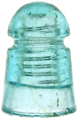 CD 104 STANDARD GLASS INSULATOR CO., Light Aqua