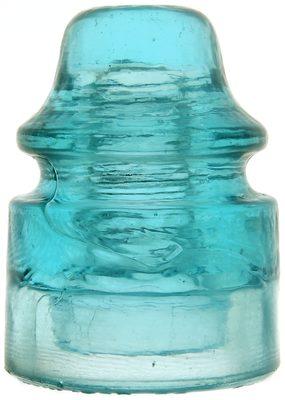 CD 157.5 STANDARD GLASS INSULATOR CO., Light Blue