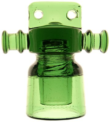 """CD 688 FOLEMBRAY // No 288, """"Champagne Bottle Green""""; several steps up from the typical color of these"""