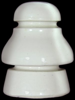U-223 A/B {Pittsburg product}, Off White Porcelain; seldom seen style!