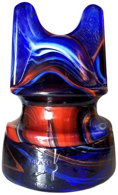 SI 269-5.375 H & H ELECTRIC CO, Red, White & Blue Slag; solid pour