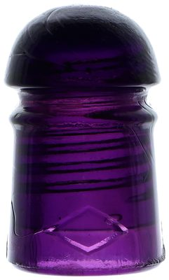 "CD 102 DIAMOND // DIAMOND, Dark Purple; The classic ""purple pony"" in fantastic shape!"