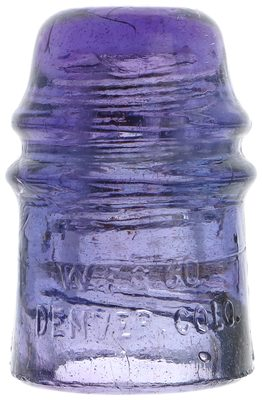 CD 121 W.F.G. CO., Deep Lavender Purple; Rich color with a multi-tone effect!
