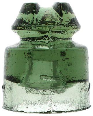CD 505 [Sanskrit symbol] {Iran}, Olivey Sage Green; Petite with a shallow pinhole!