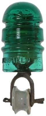 Brodie Tree Insulator; Less common than its Holmes counterpart!
