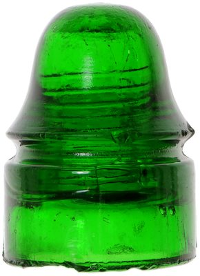 CD 134 {Oakman style}, Glowing 7-up Green; bright, glowing, amazing color!