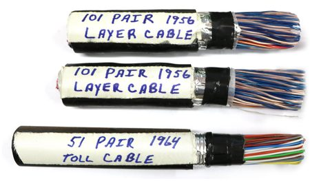 Historic Telephone Cable; remember the old days and get some multipair copper cable!