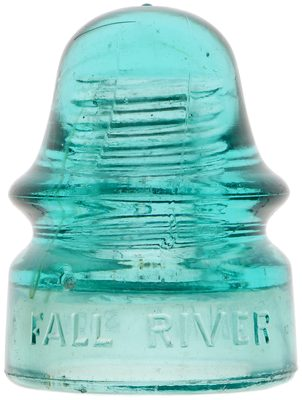 CD 134 FALL RIVER POLICE SIGNAL, Light Aqua; if you FALL into the RIVER you can SIGNAL the POLICE with this piece!