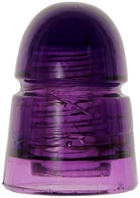 CD 145 G.N.W. TEL. CO., Royal Purple; classic Canadian purple beehive