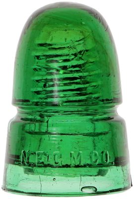 CD 145 N.E.G.M. CO., Rich Yellow Green; extra dome glass!