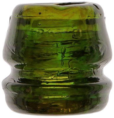 CD 187 PAT'D NOV. 23D 1886, Olive Green w/ Amber; attractive color mix!