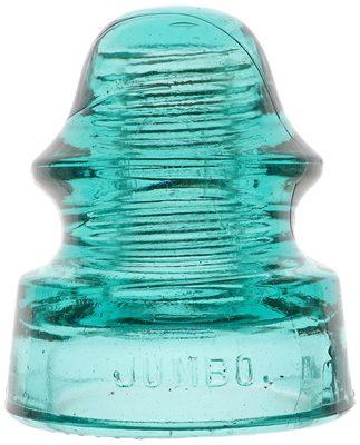 CD 140 OAKMAN MFG. CO., Rich Blue Aqua; Everyone loves a JUMBO!