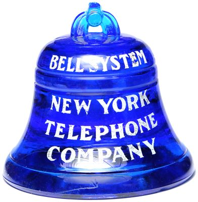 NEW YORK TELEPHONE, Cobalt Blue; colorful!