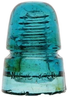 "CD 145 N.E.G.M.CO., ""Sapphire Blue"" w/ Amber Swirls; Sapphire Plus!"