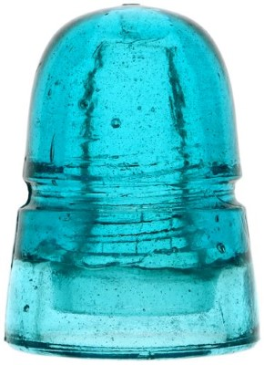 CD 145 AM.INSULATOR.CO., Bright Blue; A very attractive shade of blue!