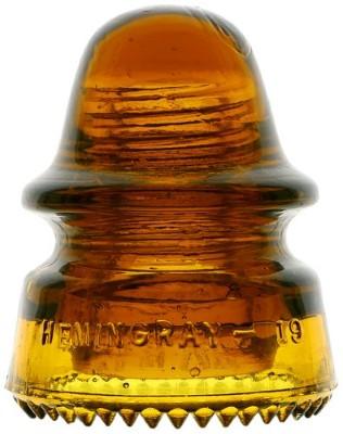 CD 162 HEMINGRAY-19, Deep Honey Amber; Beautiful deep shade!