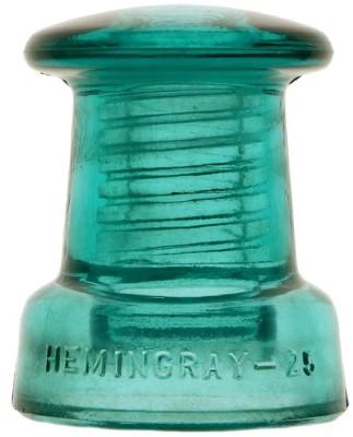 CD 175 HEMINGRAY-25, Blue Aqua; Classic doorknob!